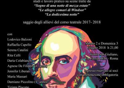 2018 - Scespiriana